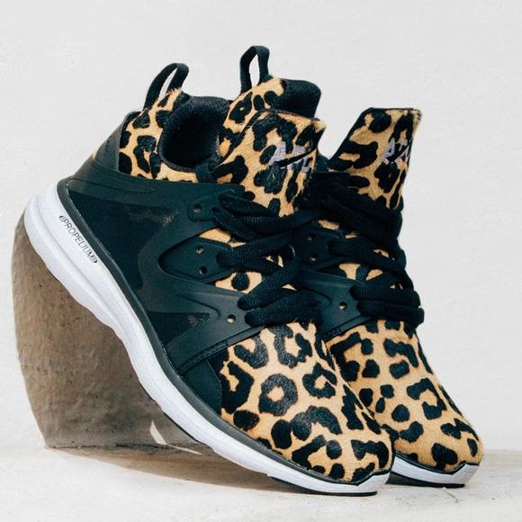 apl leopard print sneakers